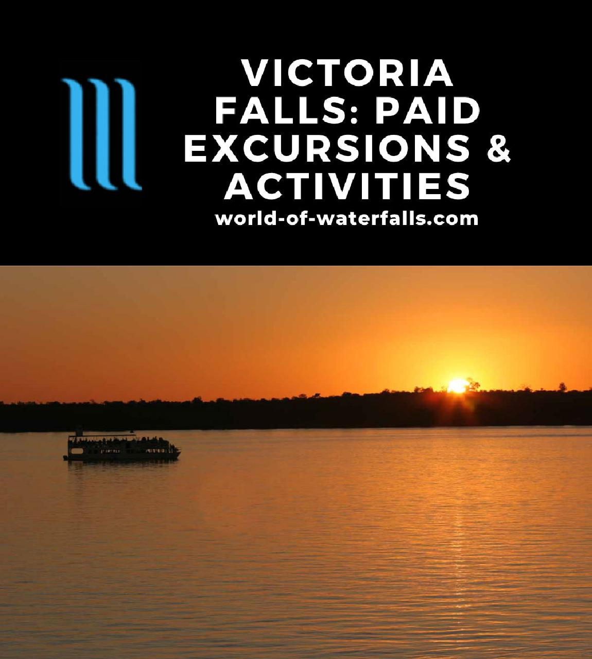 Victoria Falls: Paid Excursions and Activities