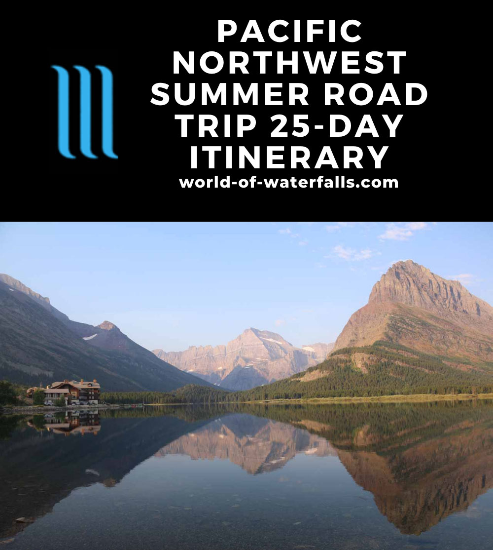 Pacific Northwest Summer Road Trip 25-Day Itinerary