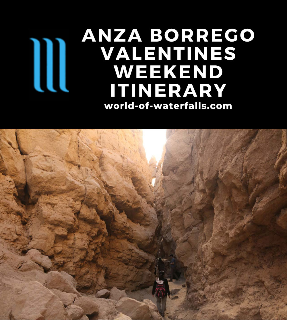 Anza Borrego Valentines Weekend Itinerary