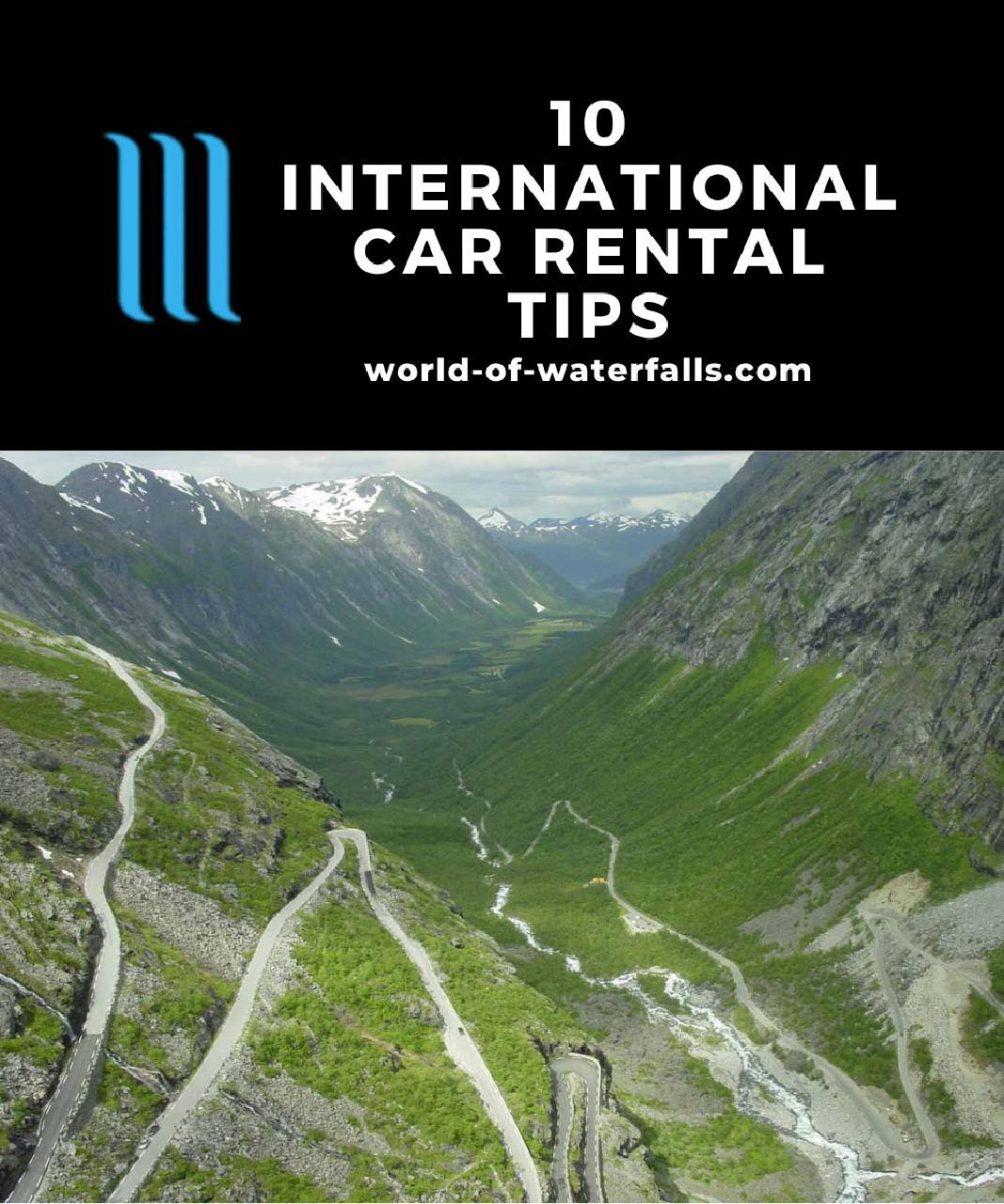 The serpentine road Trollstigen (The Troll Ladder), one of our most memorable driving experiences given its hair-raising steep climb, switchbacks, and narrowness as well as breathtaking scenery