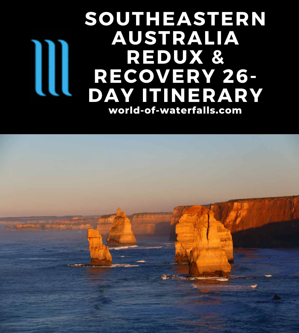 Southeastern Australia Redux and Recovery 26-Day Itinerary