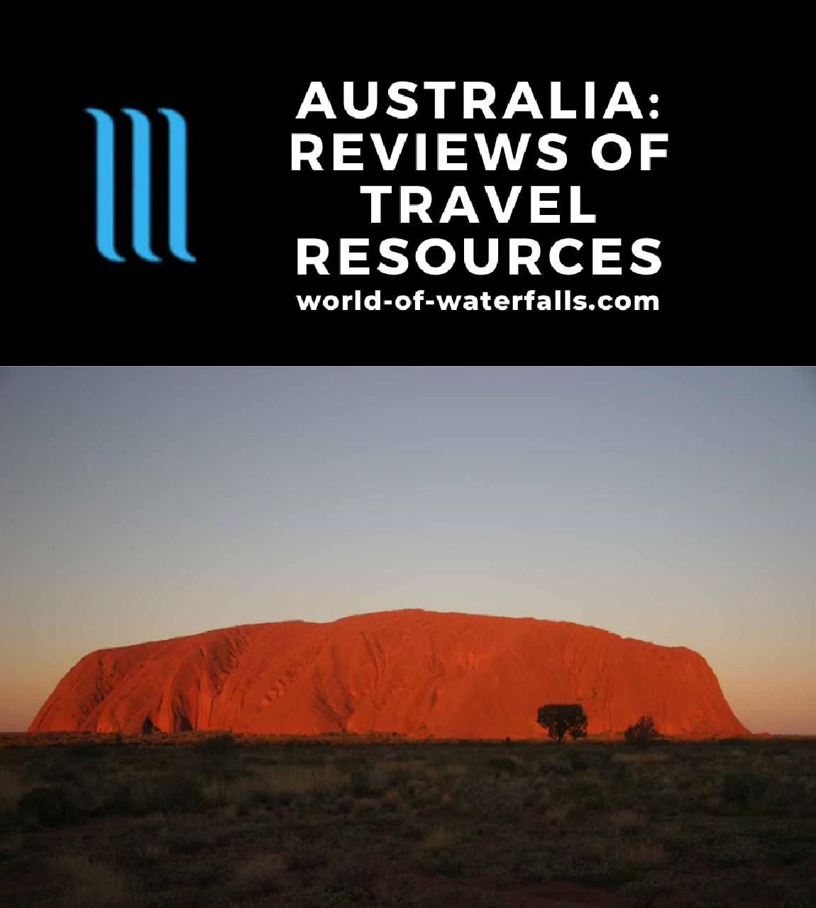 Australia: Reviews of Travel Resources