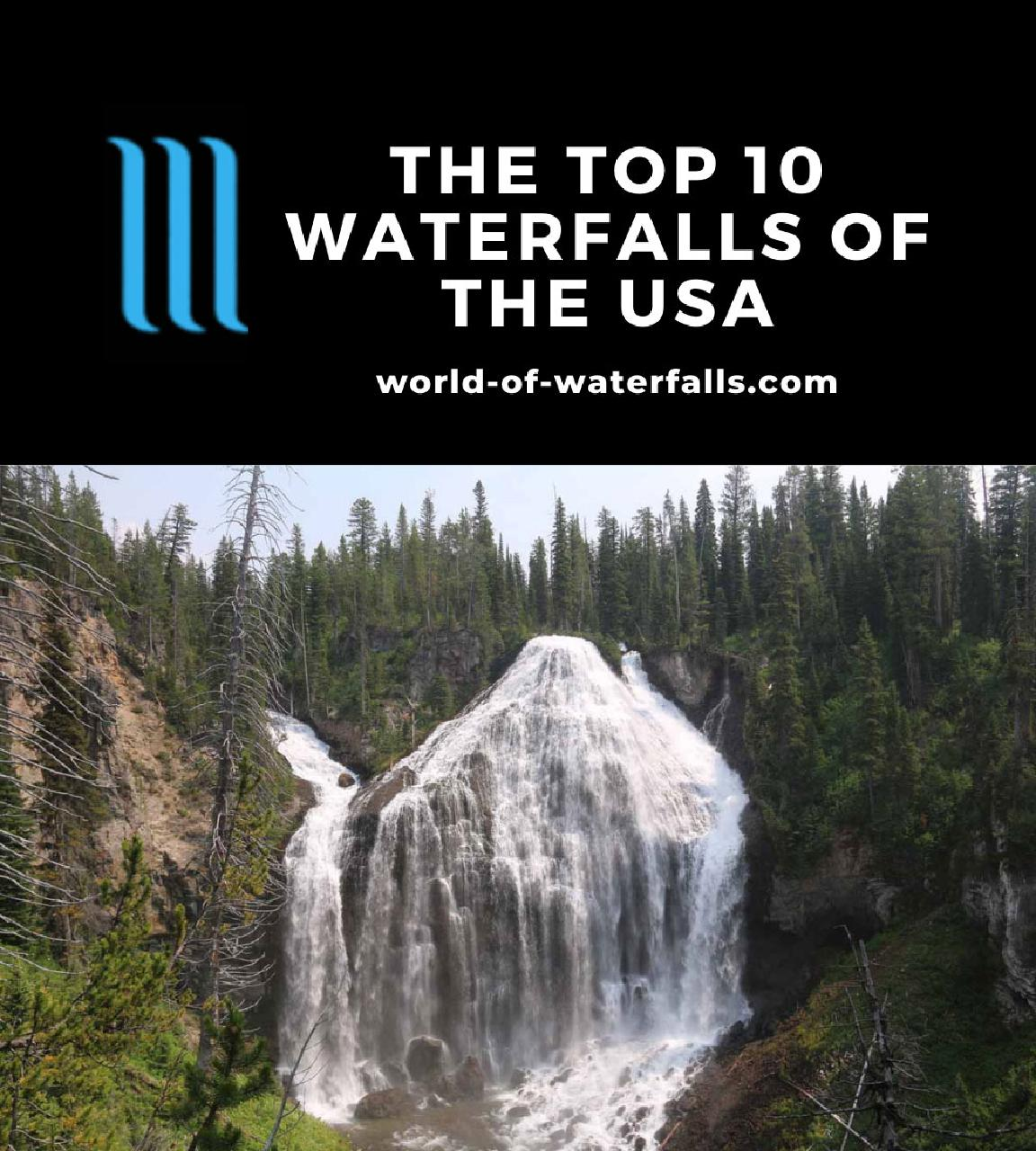 The Top 10 Waterfalls of the USA