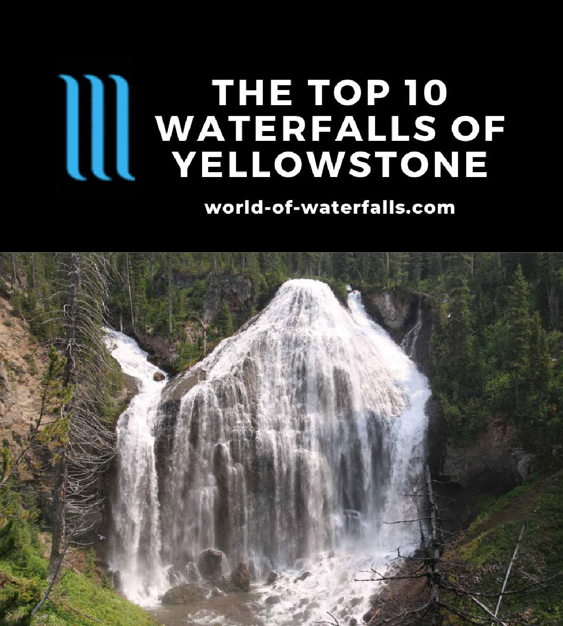 The Top 10 Waterfalls of Yellowstone National Park