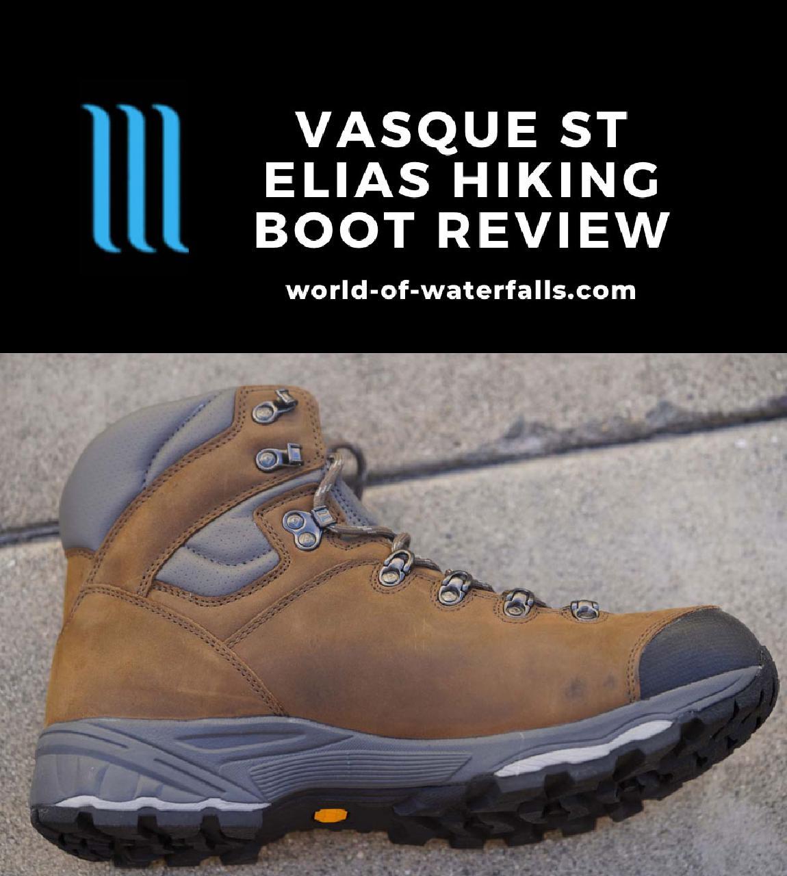 My new Vasque St Elias GTX Waterproof Hi-top Hiking Boot