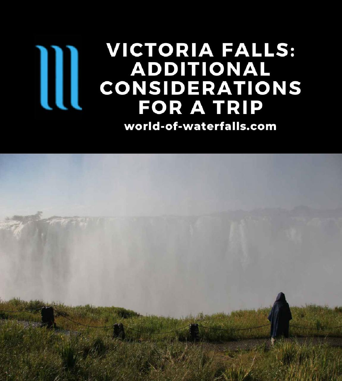 Victoria Falls: Additional Considerations for a Trip