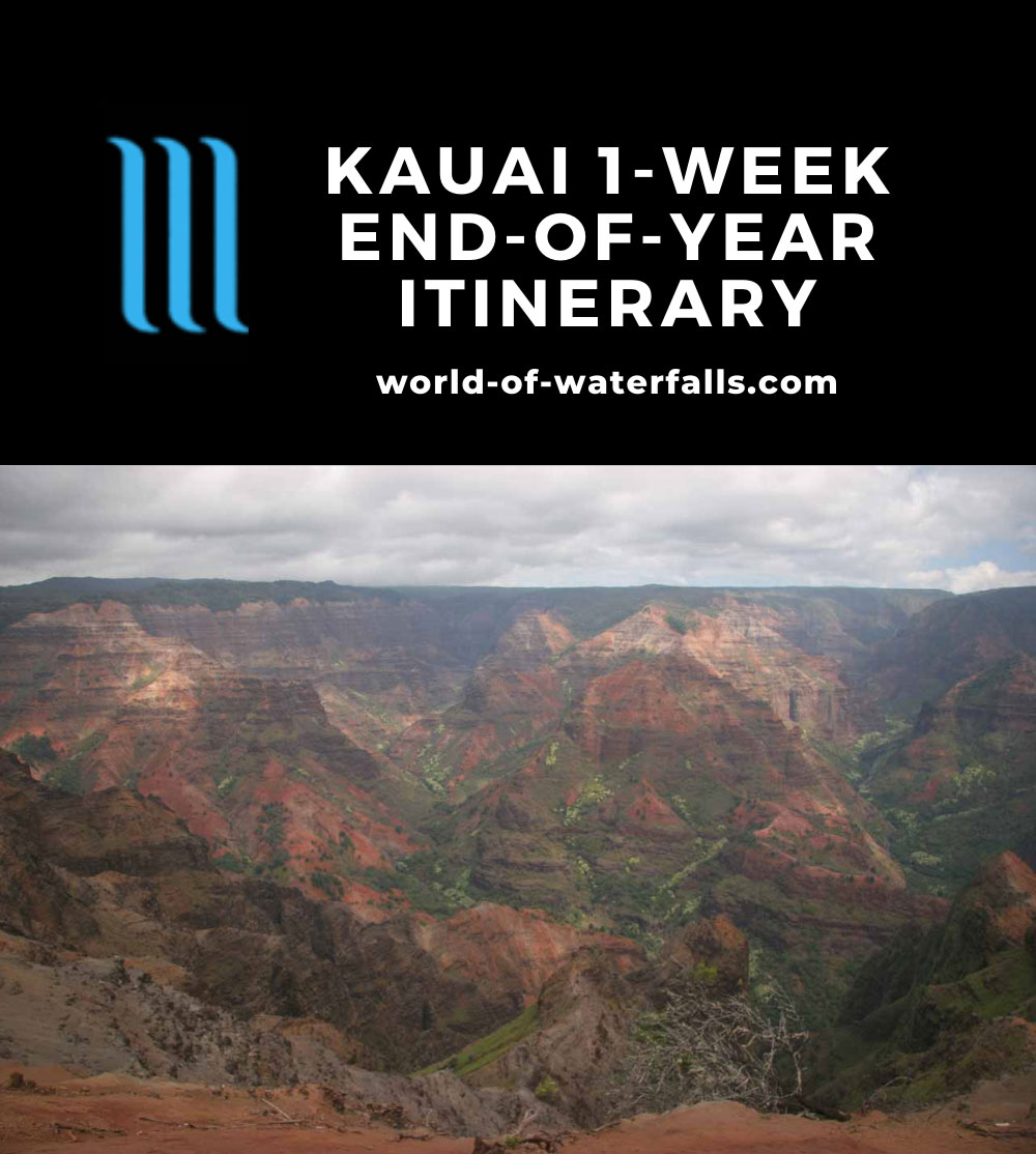 Kauai 1-Week End-of-Year Itinerary