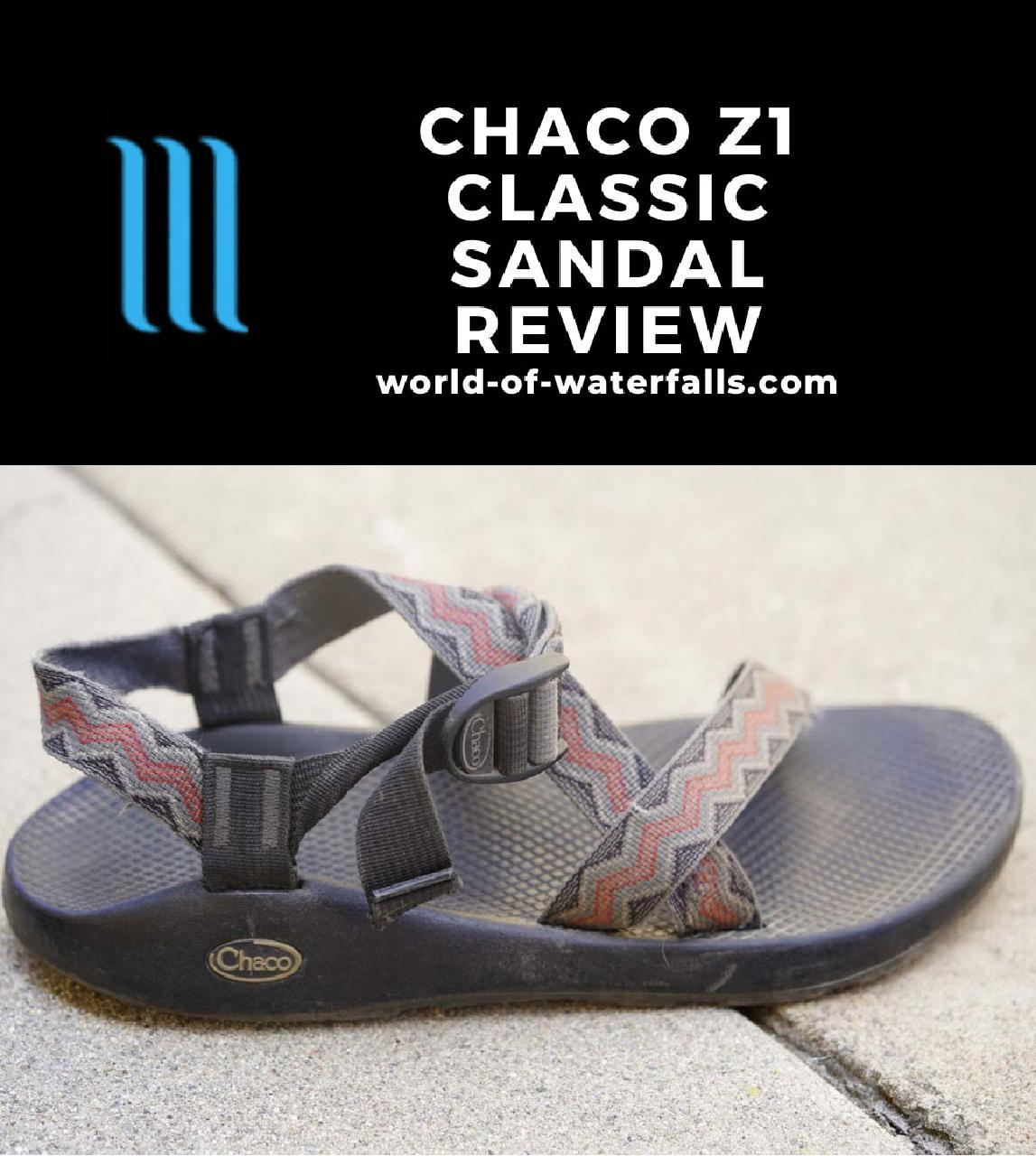 My worn Chaco Z1 Classic Sandal
