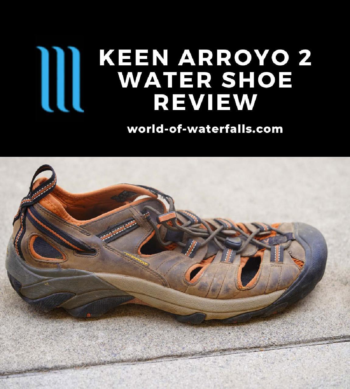 My worn Keen Arroyo II Waterproof Shoes