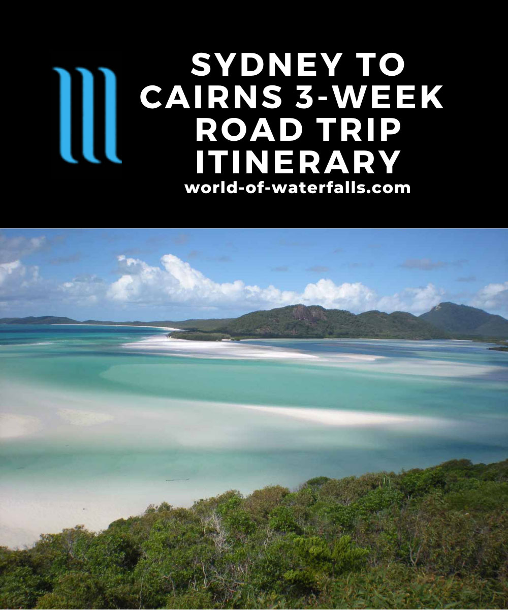 Sydney to Cairns 3-Week Road Trip Itinerary