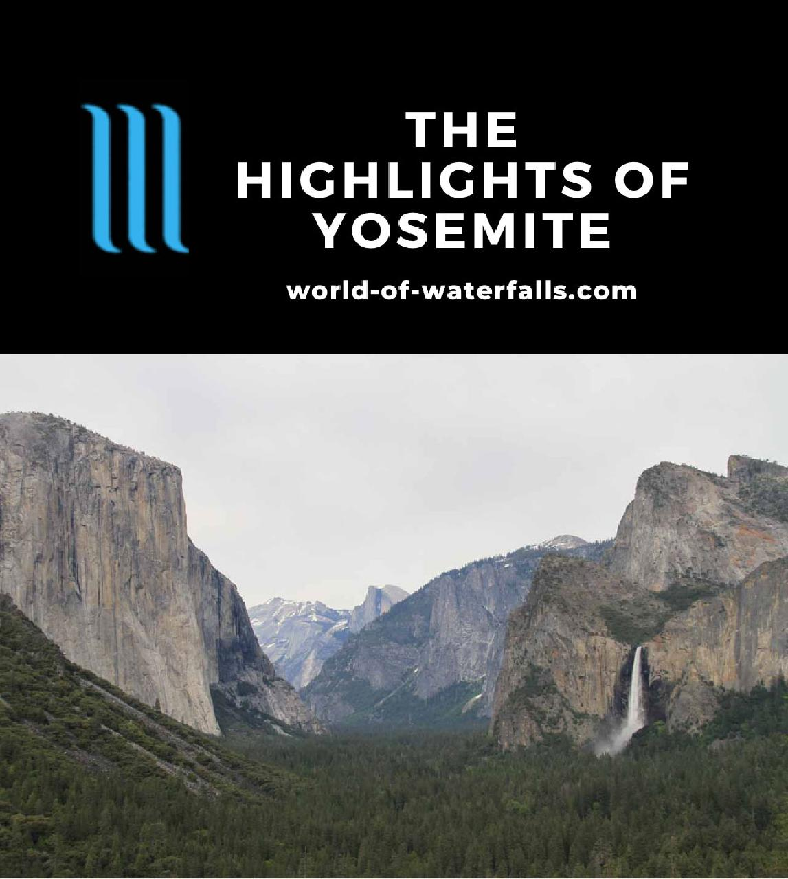 Yosemite Highlights
