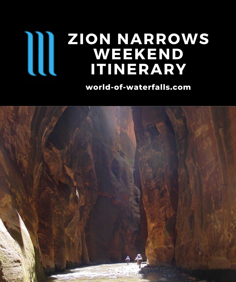 Zion Narrows Weekend Itinerary
