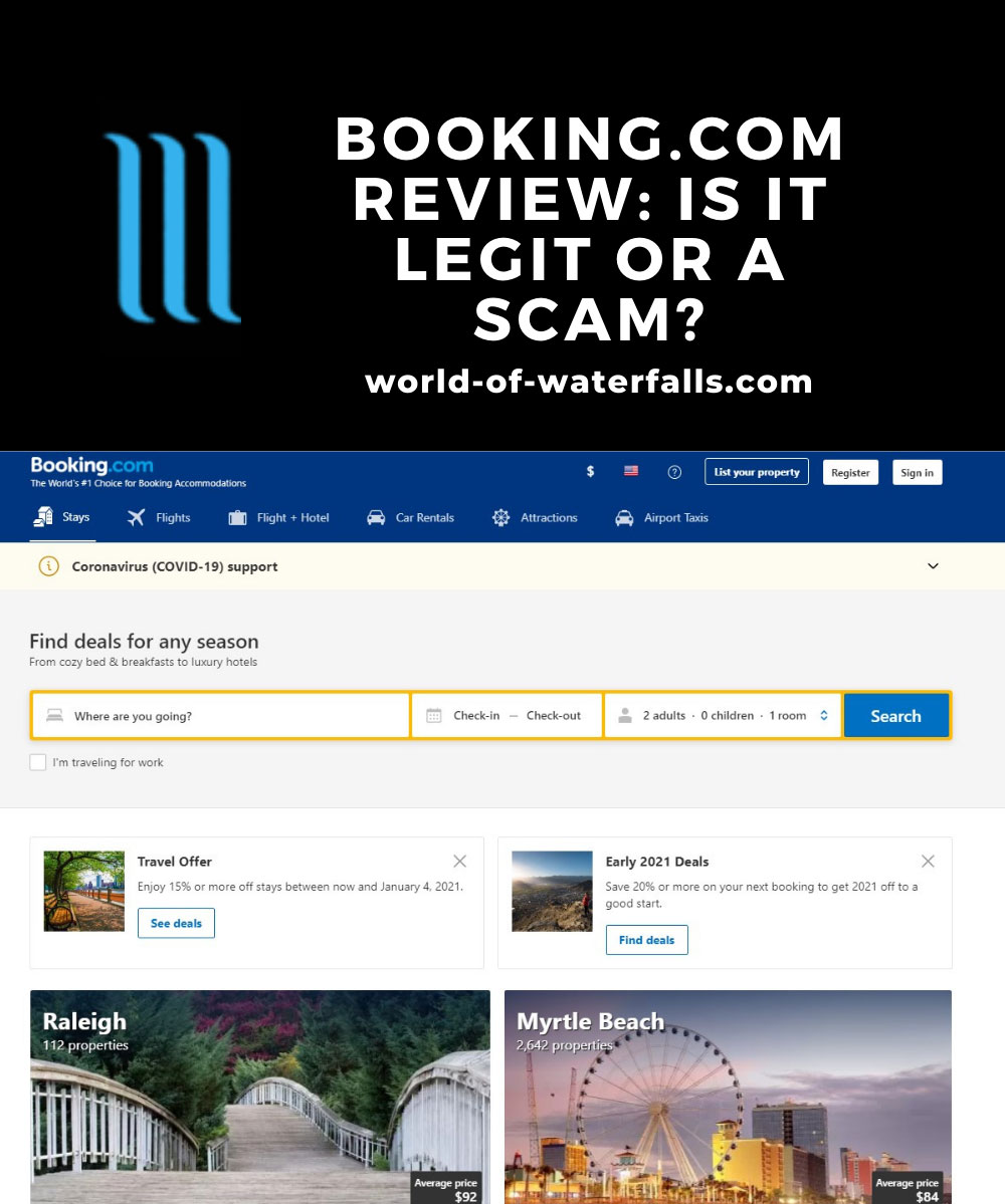 Booking.com Review: Is it legit or a scam?