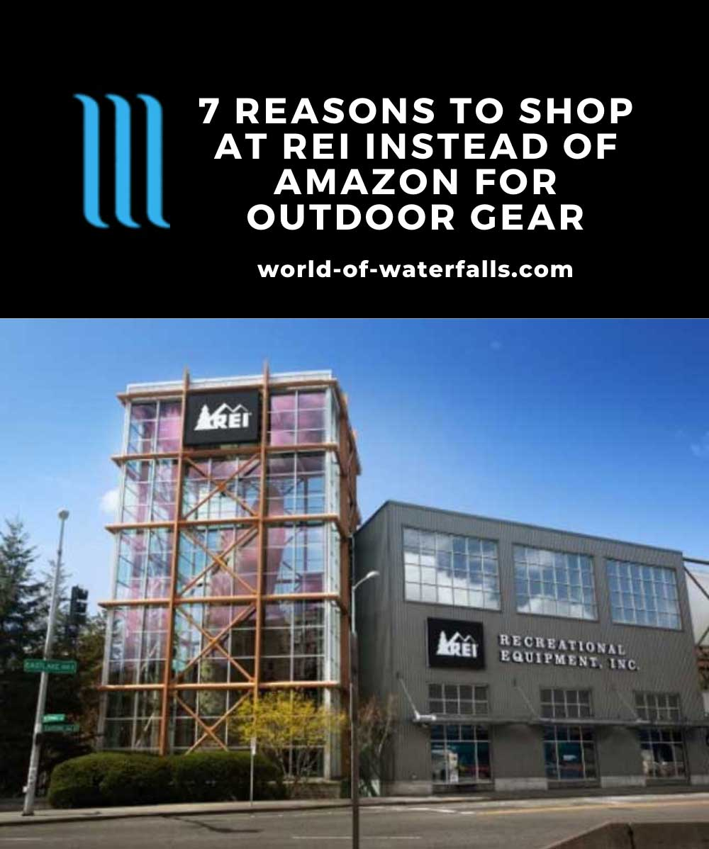 An REI Store Front