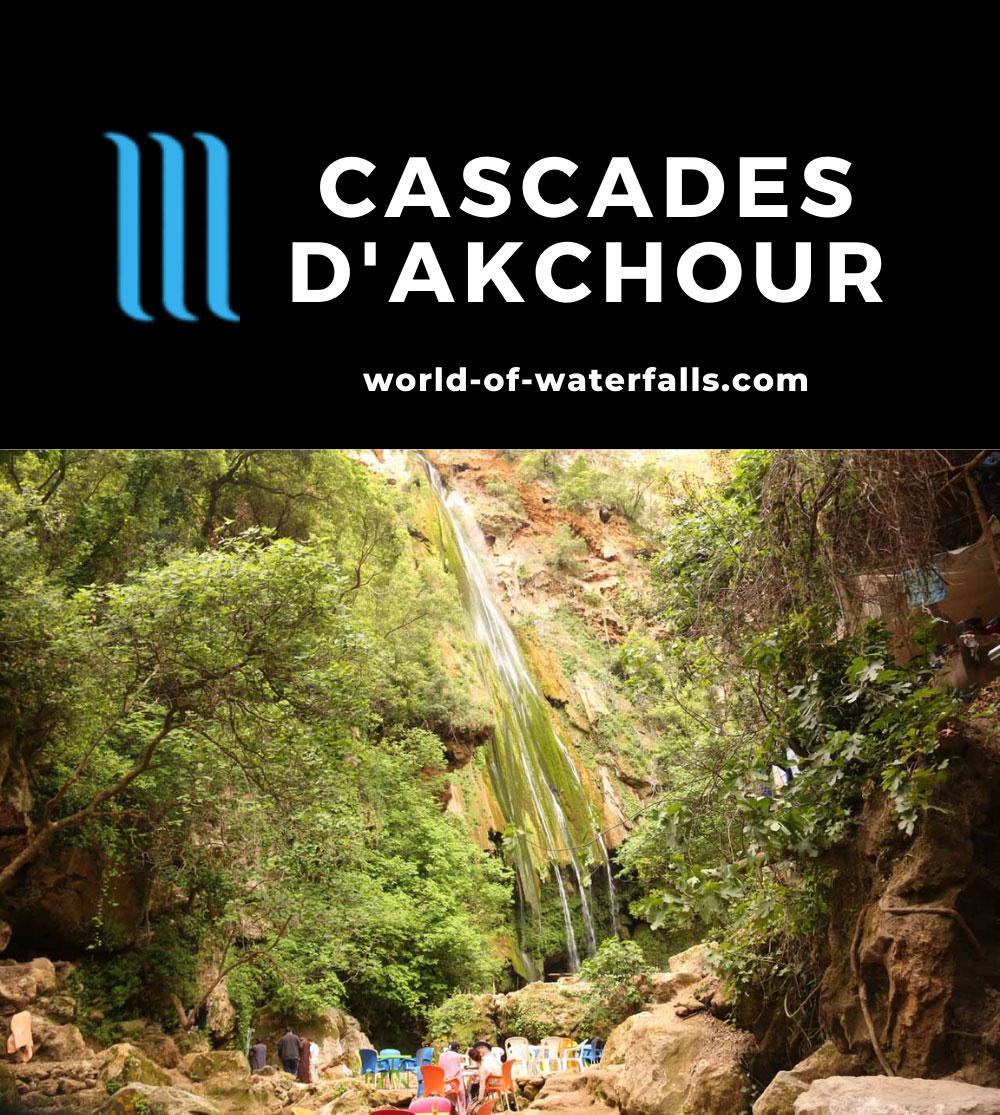 Akchour_335_05222015 - The Upper Cascade d'Akchour Waterfall