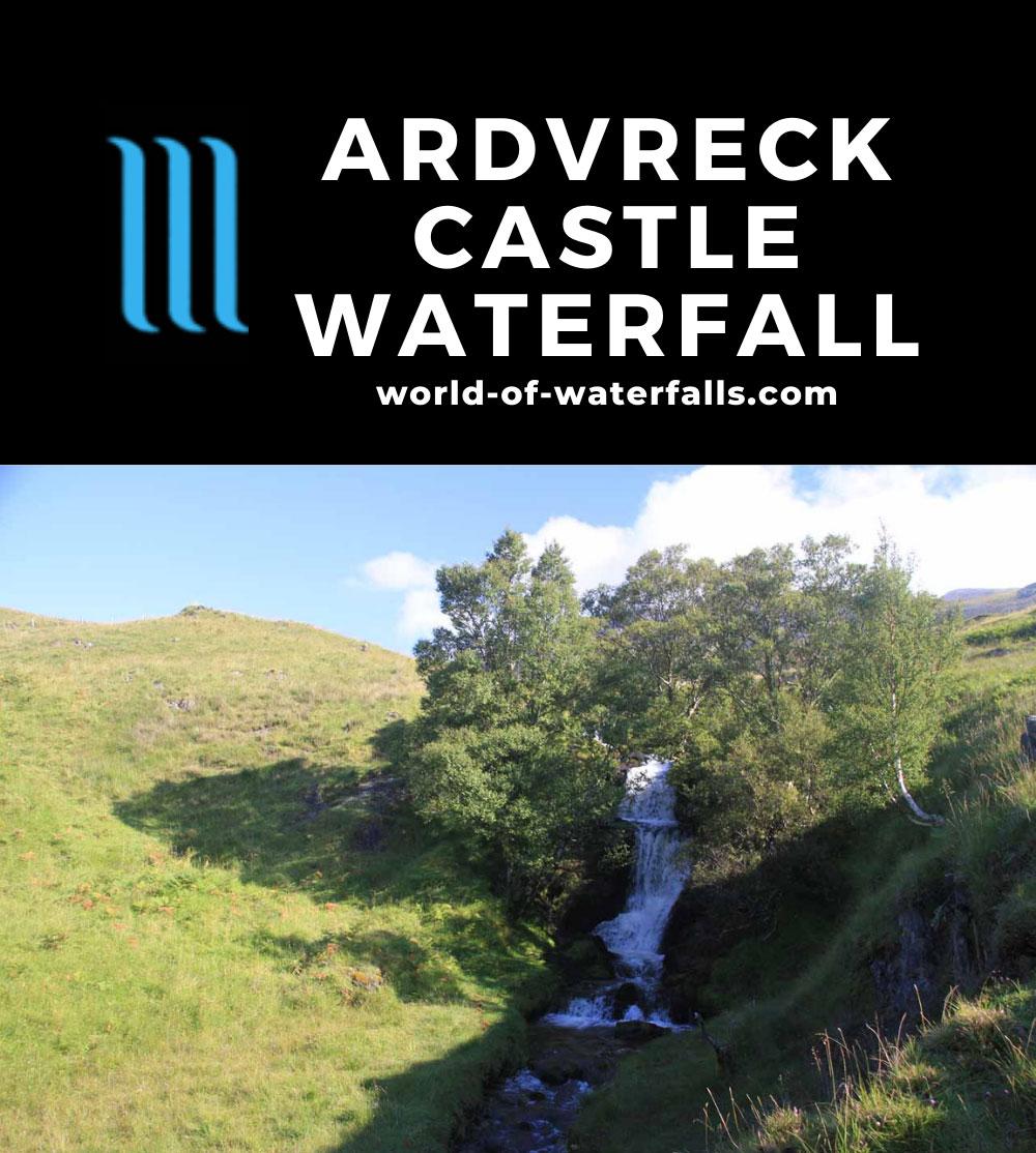 Ardvreck_Castle_029_08252014 - The Ardvreck Castle Waterfall