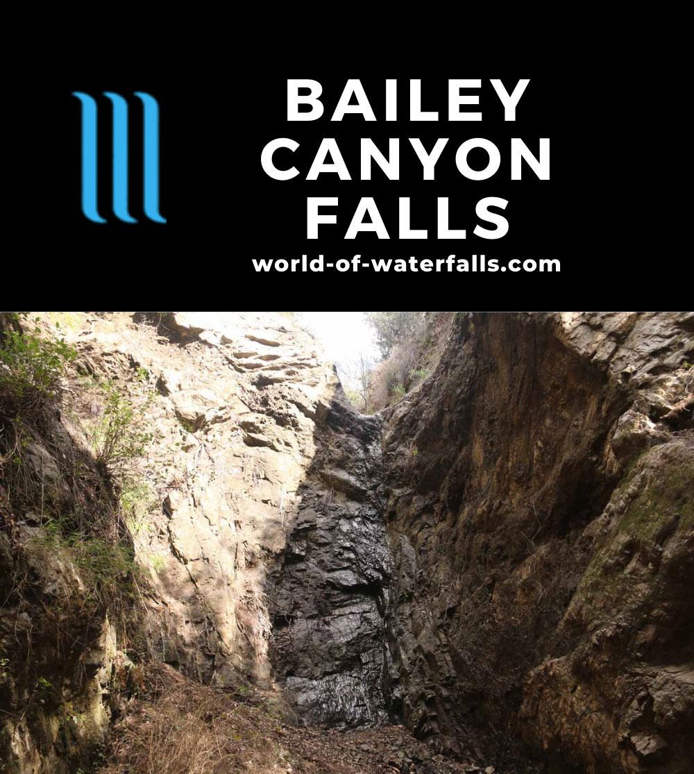 Bailey_Canyon_Falls_045_01212017 - A dry Bailey Canyon Falls