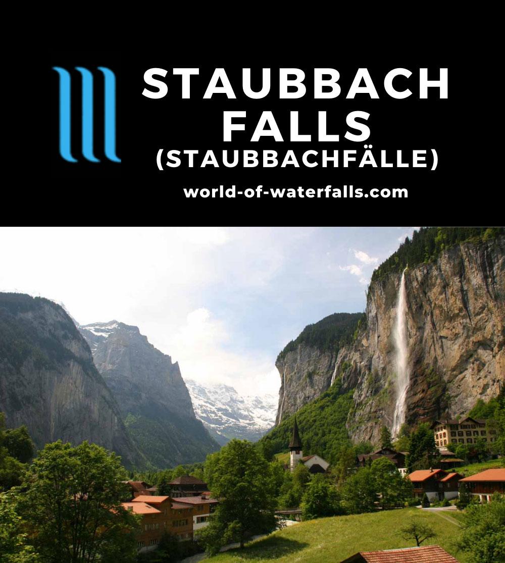 Bernese_Oberland_271_06082010 - Staubbach Falls and the Lauterbrunnen Valley
