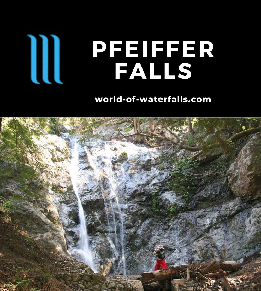 Big_Sur_State_Park_035_03192010 - Julie checking out Pfeiffer Falls