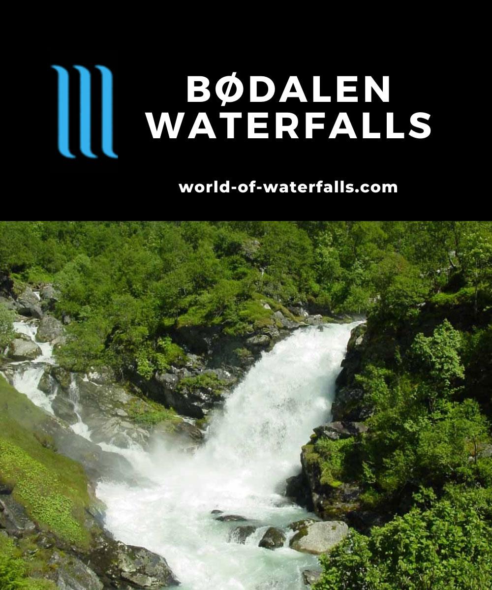 Bodalen_001_06302005 - Høysteinfossen in the narrow Bødalen Valley