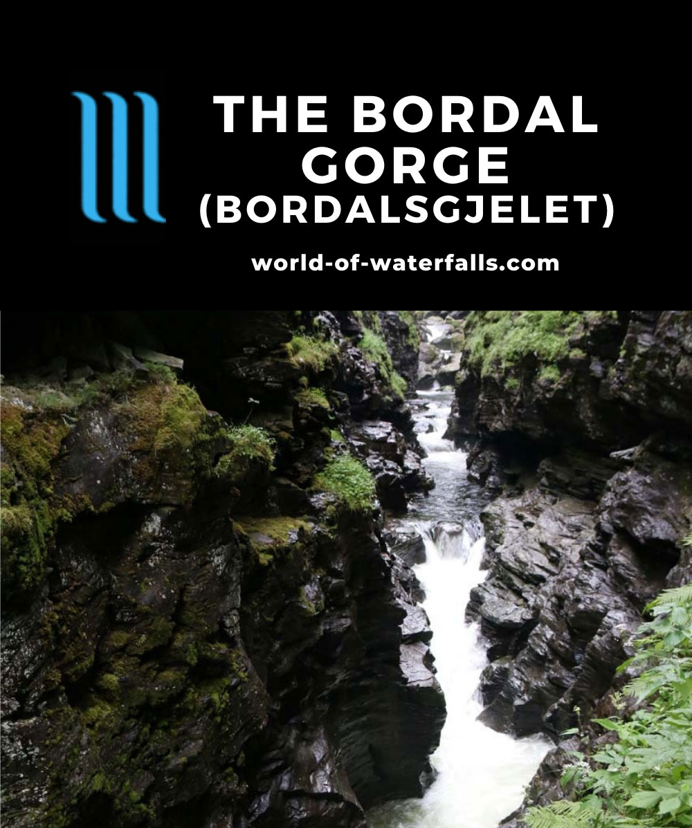 Bordalsgjelet_091_07232019 - The cascade on the Bordalselvi within the depths of the Bordalsgjelet (Bordal Gorge)