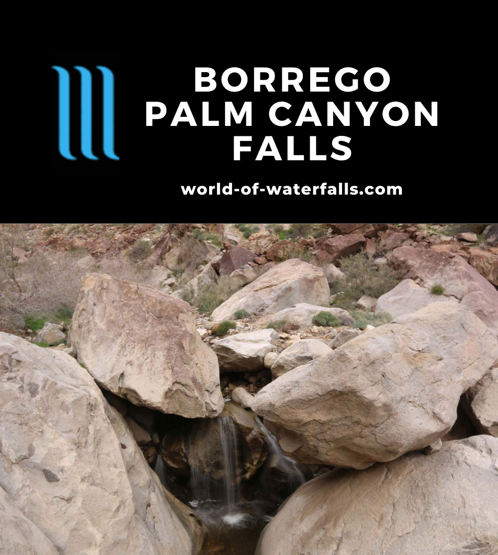 Borrego_Palm_Canyon_099_02092019 - The first of the Borrego Palm Canyon Falls that we saw