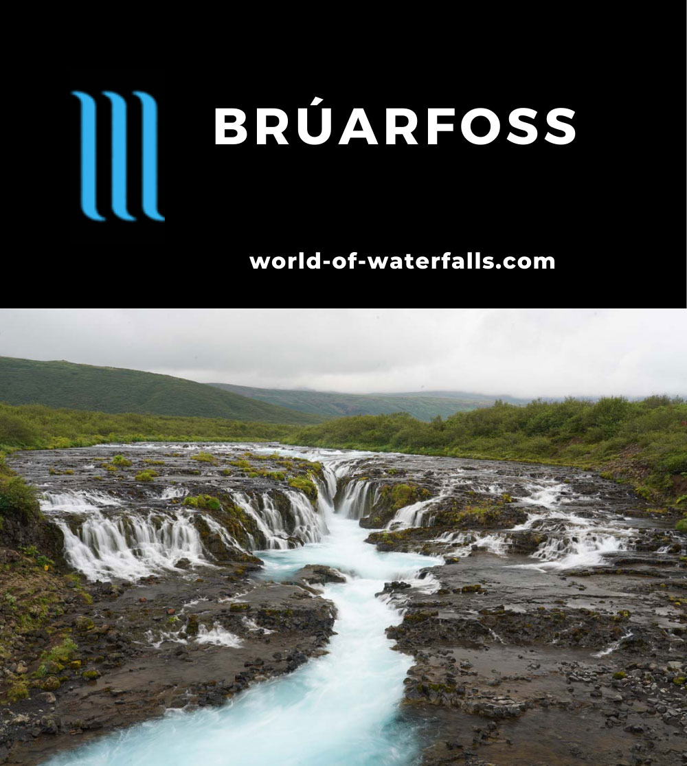 Bruarfoss_170_08062021 - Bruarfoss (or Brúarfoss or Brúarárfoss)