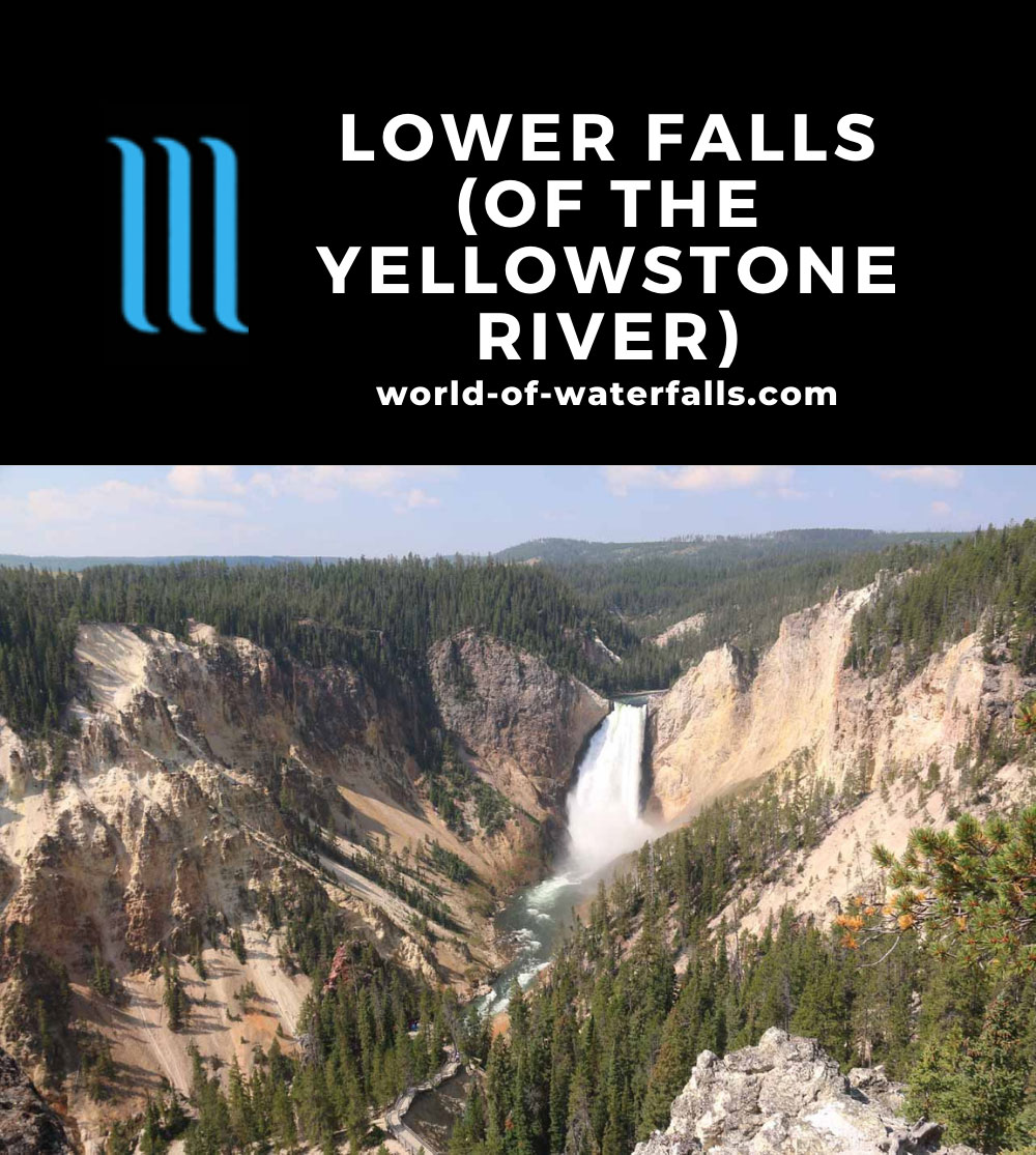 Canyon_North_Rim_068_08102017 - The Lower Falls of the Yellowstone River