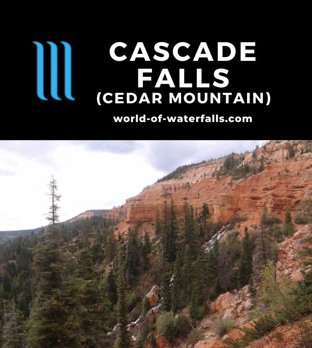 Cascade_Falls_Cedar_131_05252017 - Context of Cascade Falls and its surrounding red cliffs