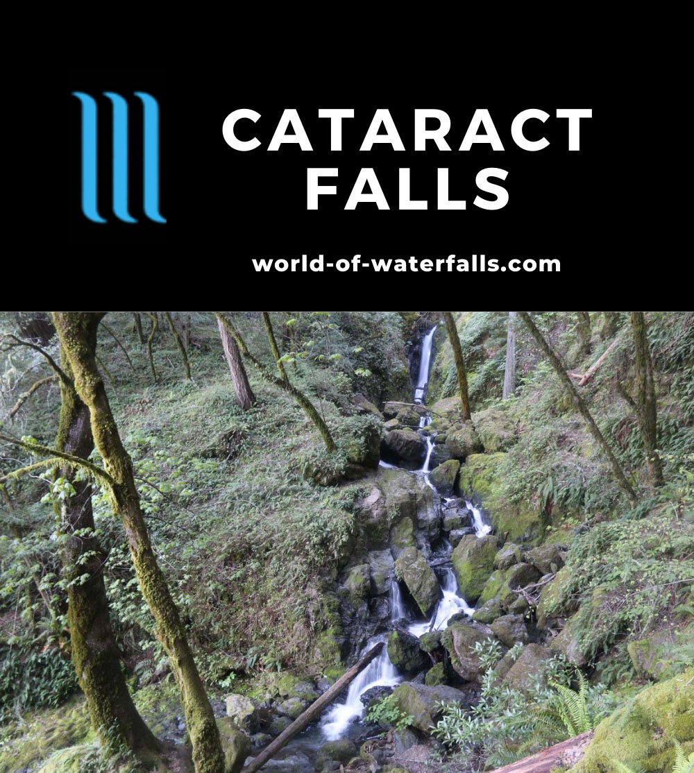 Cataract_Falls_066_04212019 - One of many waterfalls and cascades comprising Cataract Falls