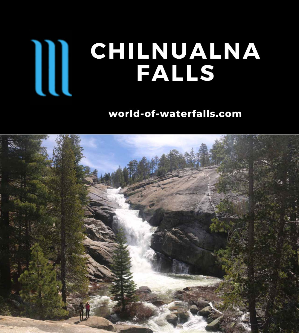 Chilnualna_Falls_17_256_06172017 - The uppermost of the Chilnualna Falls