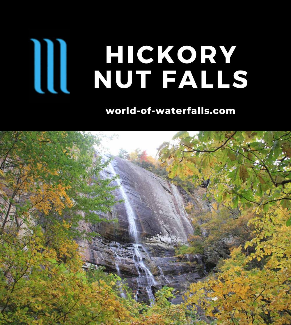 Chimney_Rock_070_20121020 - Hickory Nut Falls in Chimney Rock Park