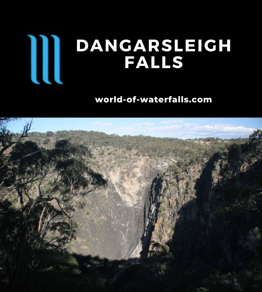 Dangarsleigh_Falls_011_05052008 - Dangarsleigh Falls, which was dry during our visit in May 2008