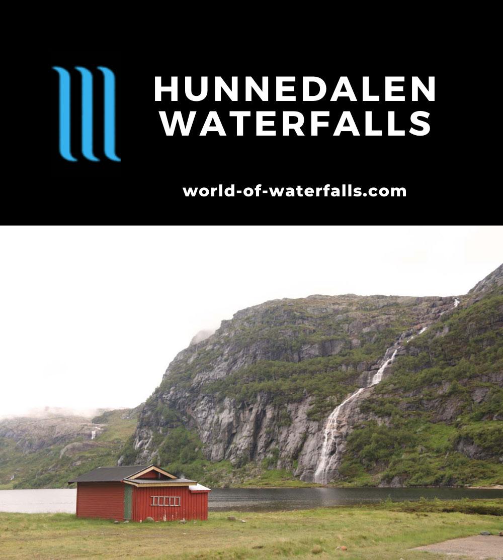 Dirdal_033_06202019 - Waterfall spilling into Hunnevatnet on the Kvitingen Stream
