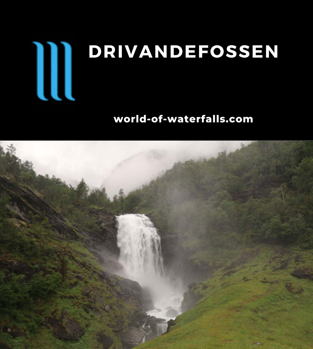 Drivandefossen_056_07212019 - The main drop of Drivandefossen