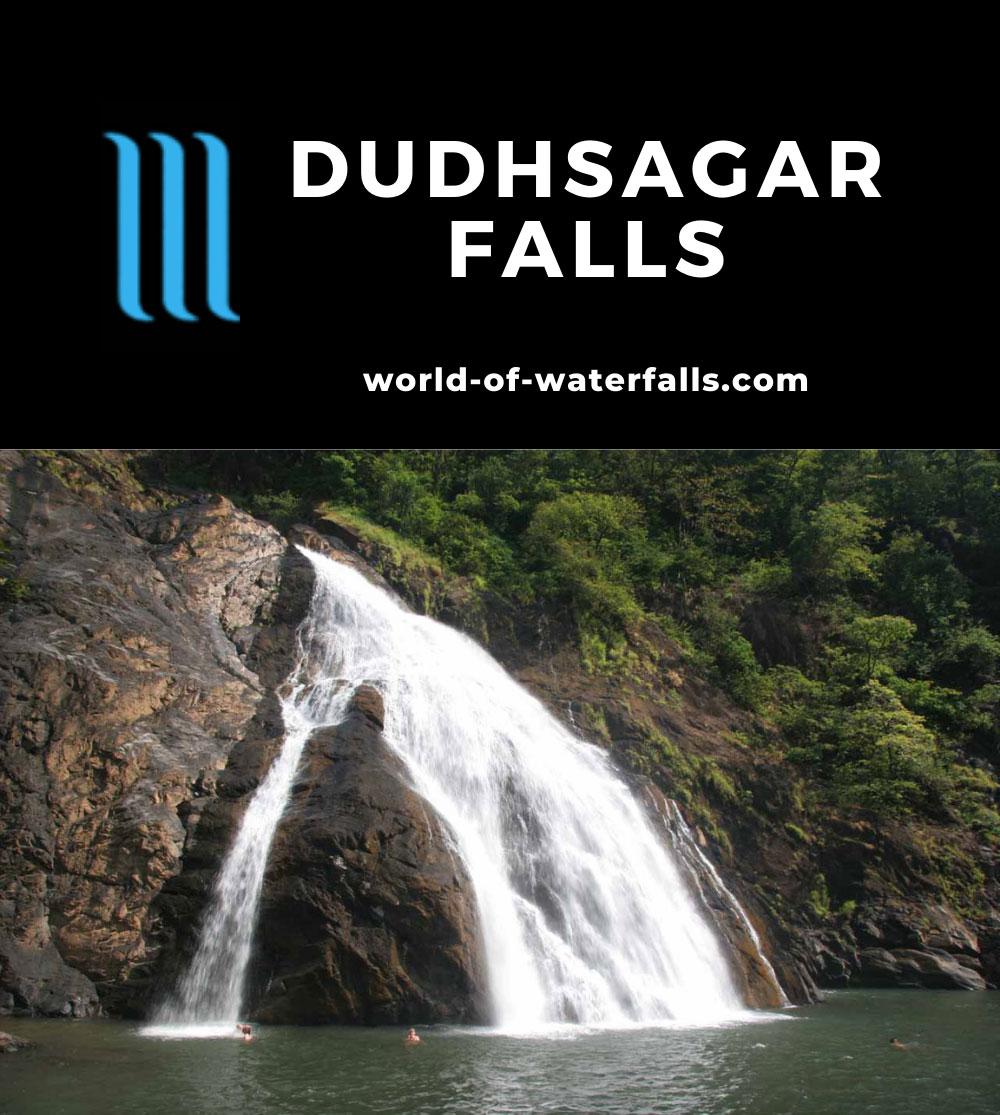 Dudhsagar_019_11122009 - The last section of Dudhsagar Falls