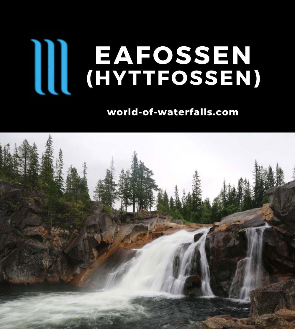 Eafossen_037_07152019 - Eafossen or Hyttfossen as seen from its base in July 2019