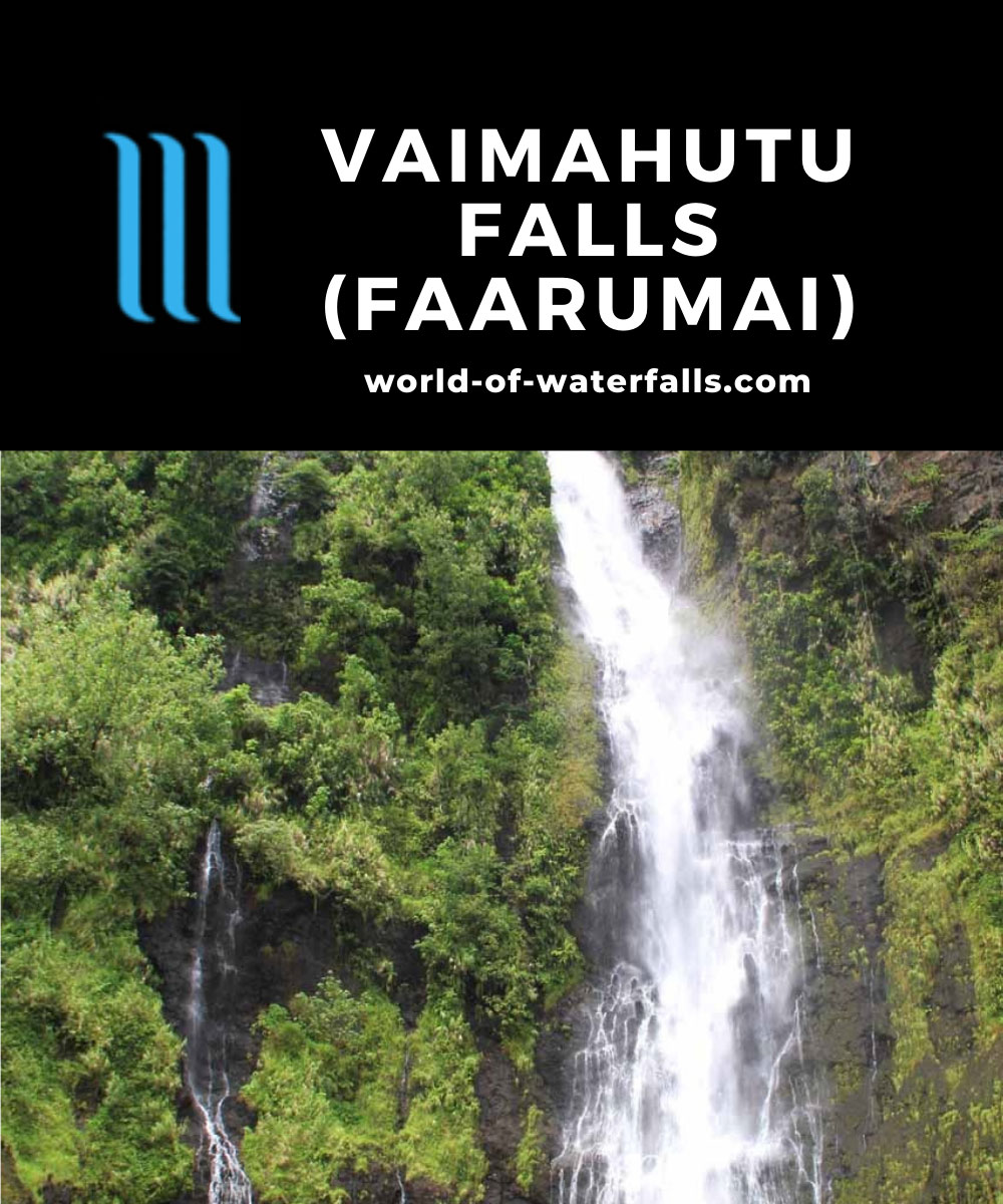 Faarumai_Waterfalls_014_20121215 - Vaimahutu Falls in Wet Season flow