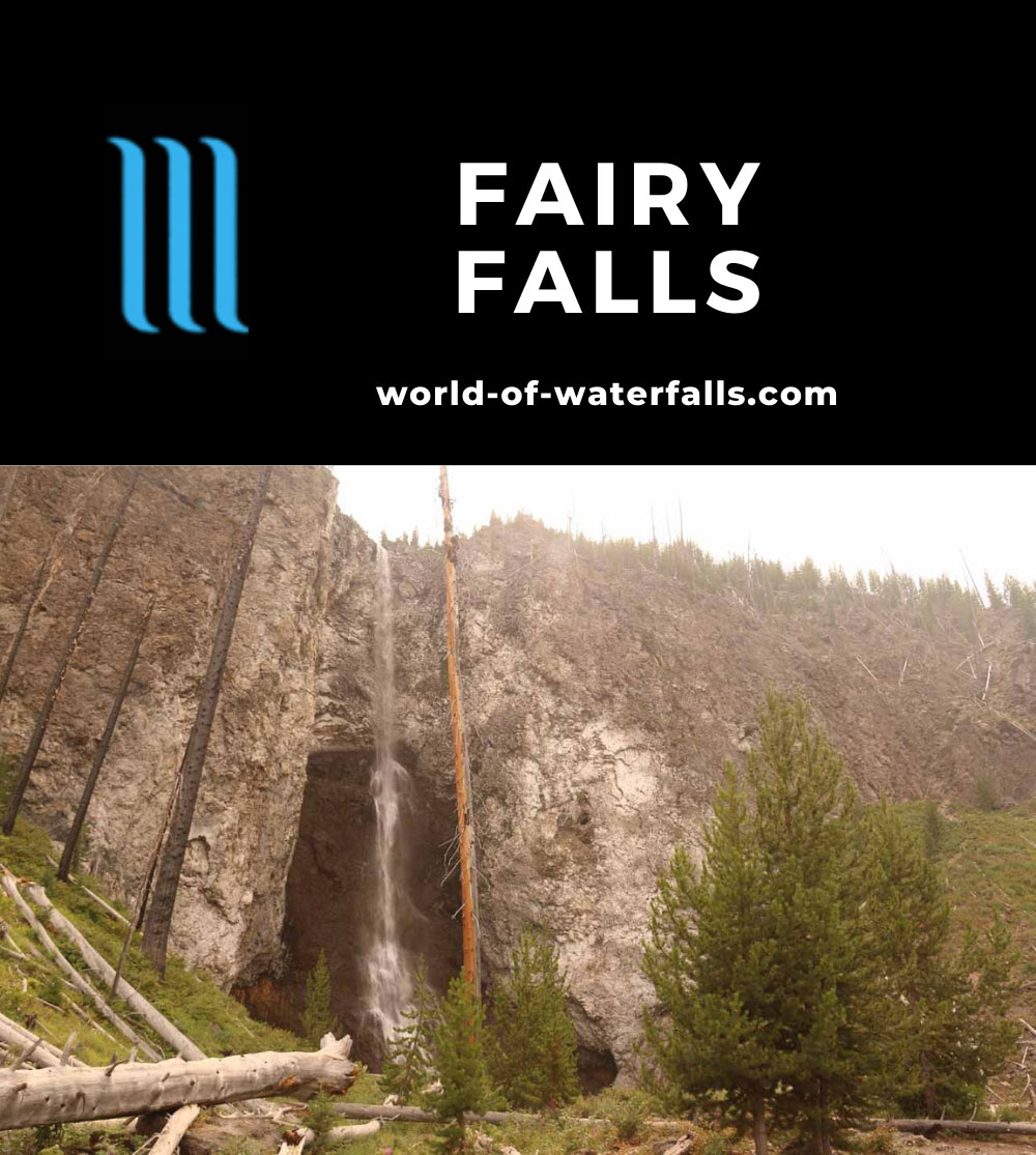Fairy_Falls_Yellowstone_152_08112017 - Fairy Falls as seen in mid-August 2017