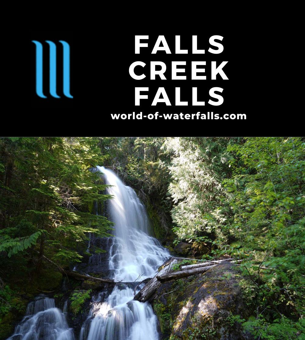 Falls_Creek_Falls_005_06212021 - Falls Creek Falls in Mt Rainier National Park