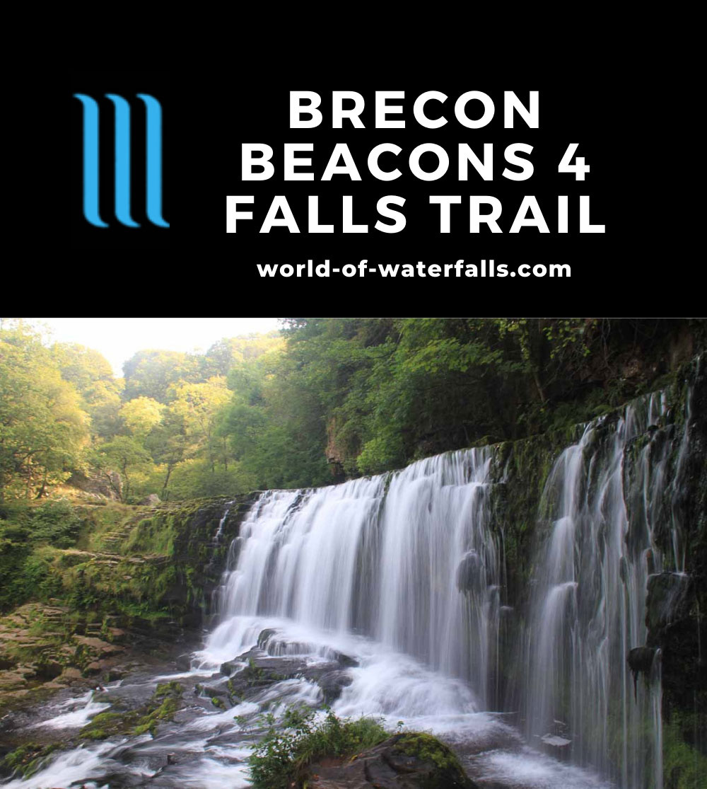 Four_Falls_Trail_163_09042014 - Sgwd Isaf Clun-Gwyn - one of the main waterfalls on the Brecon Beacons Four Falls Trail