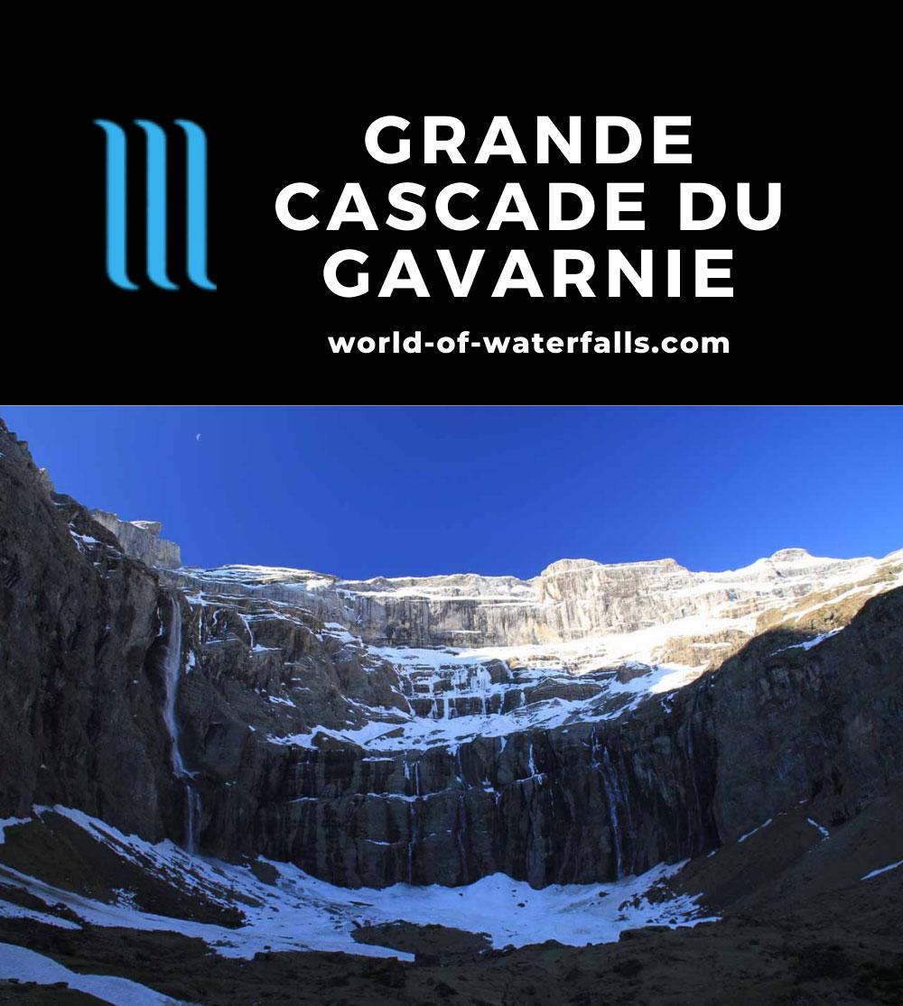 Gavarnie_206_20120513 - The Grande Cascade du Gavarnie and the Cirque du Gavarnie