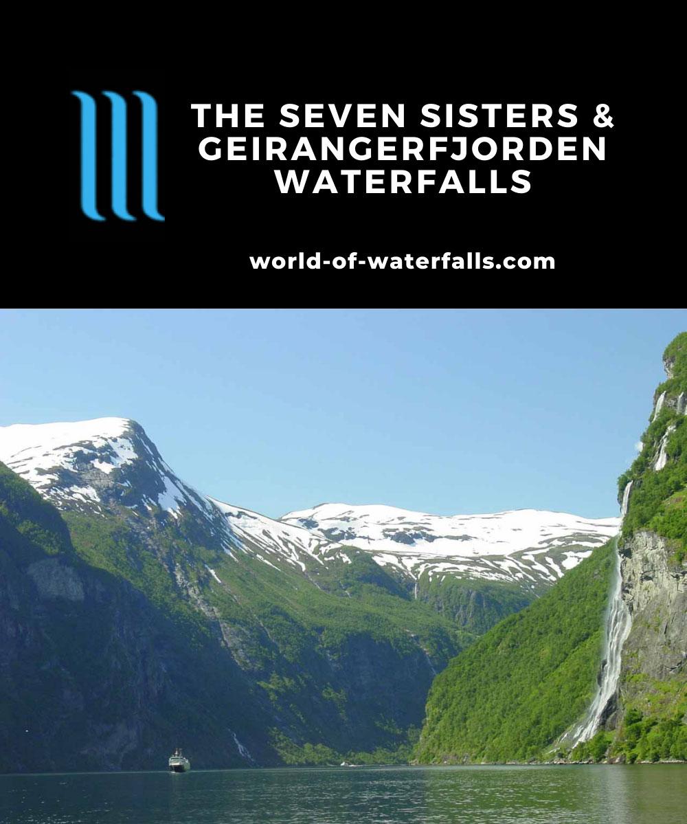 Geirangerfjorden_034_07012005 - The Seven Sisters framing the Geirangerfjord on a beautiful day in early July 2005