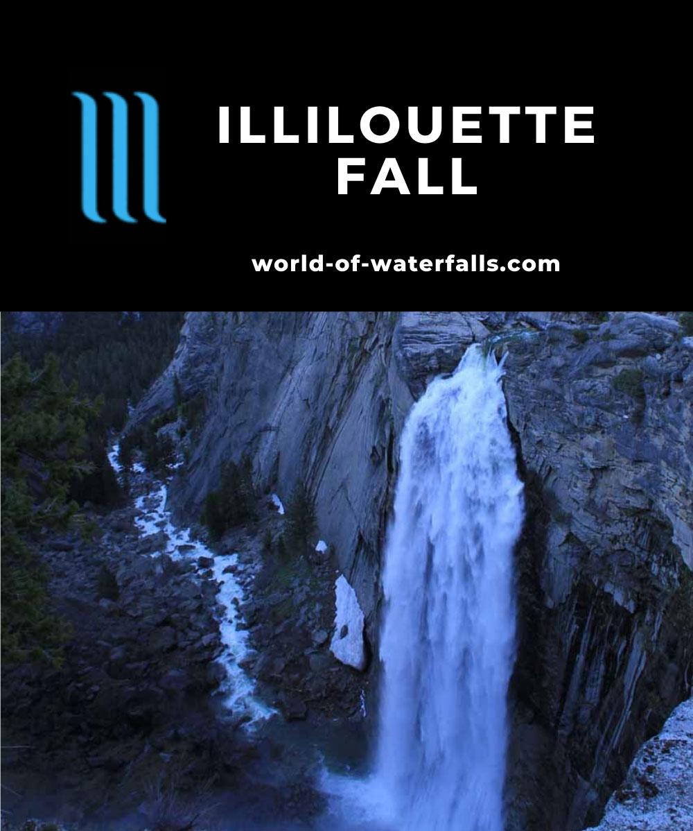 Glacier_Point_070_06022011 - Illilouette Fall seen with Half Dome