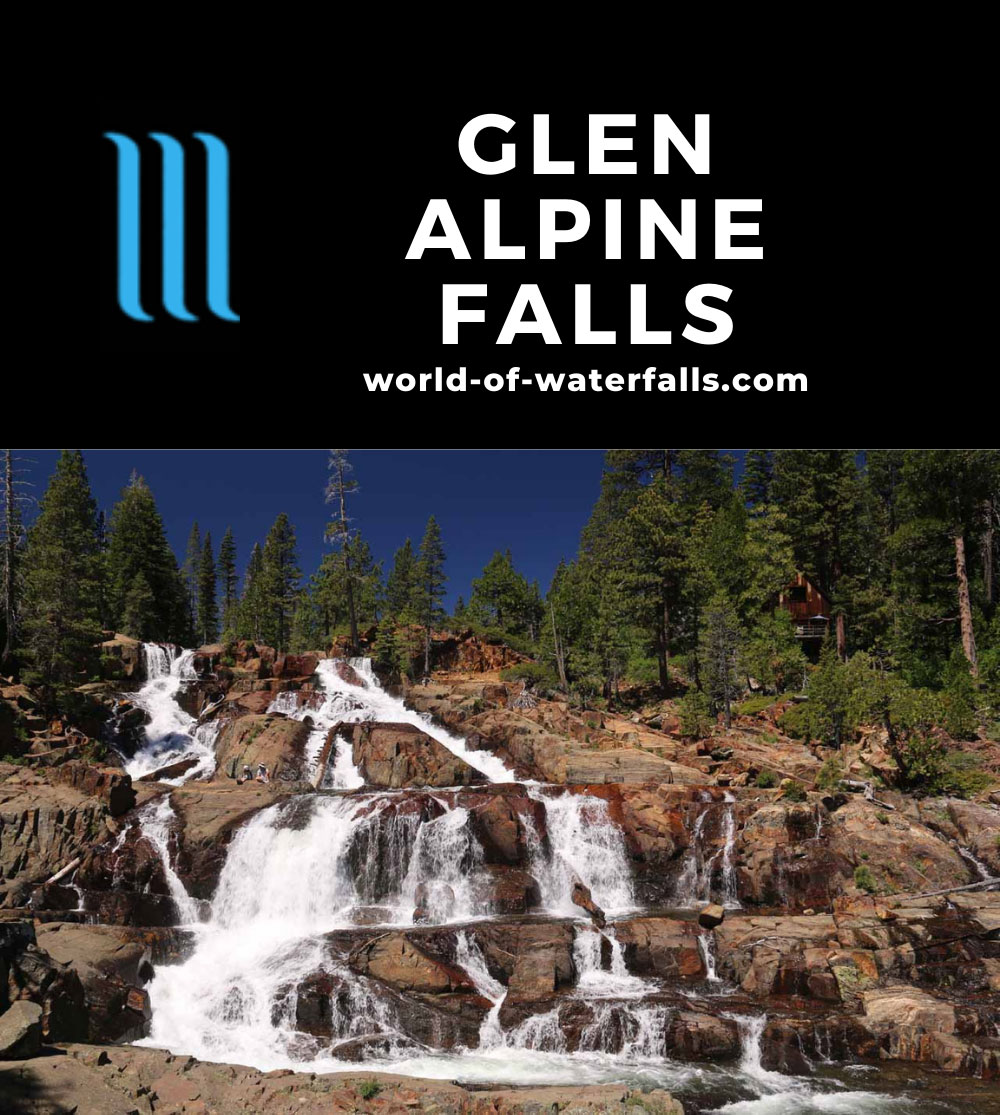 Glen_Alpine_Falls_007_06232016 - Glen Alpine Falls (or Lower Glen Alpine Falls)