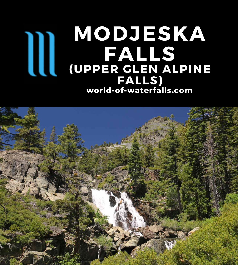Glen_Alpine_Falls_102_06232016 - Modjeska Falls (or Upper Glen Alpine Falls)