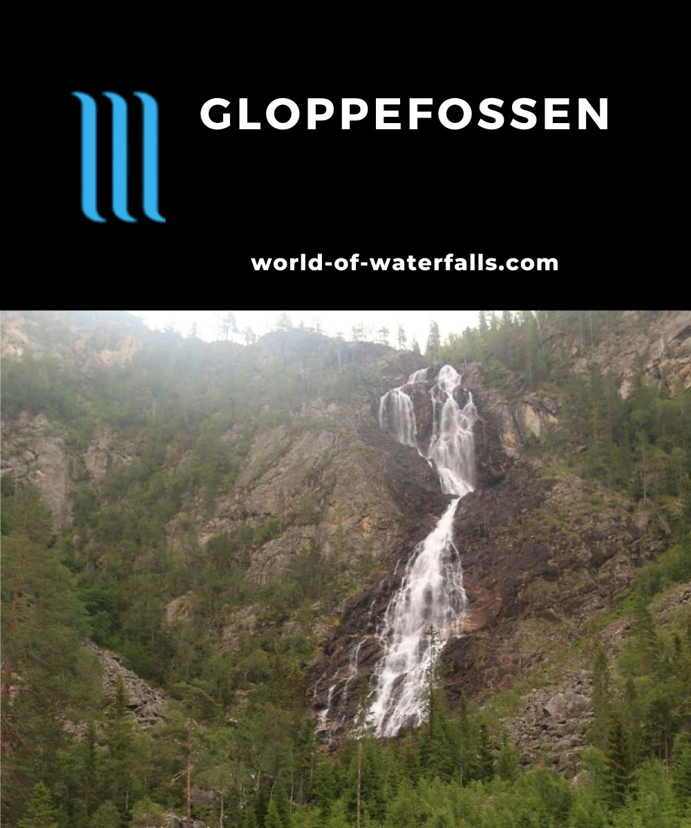 Gloppefossen_087_07242019 - Gloppefossen in mid- or late-Summer flow in 2019