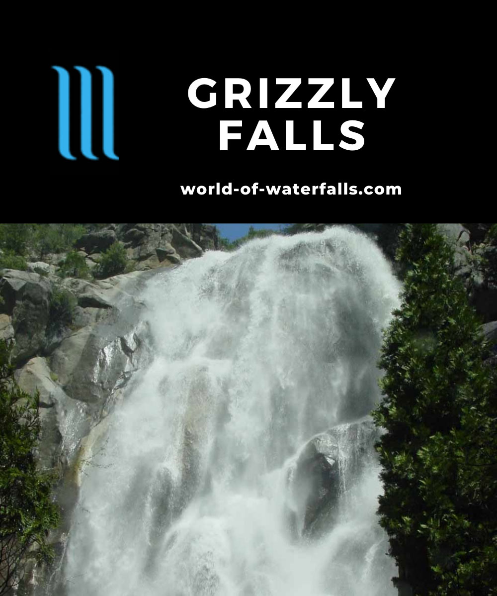 Grizzly_Falls_010_05272005 - Grizzly Falls in high flow in the Spring