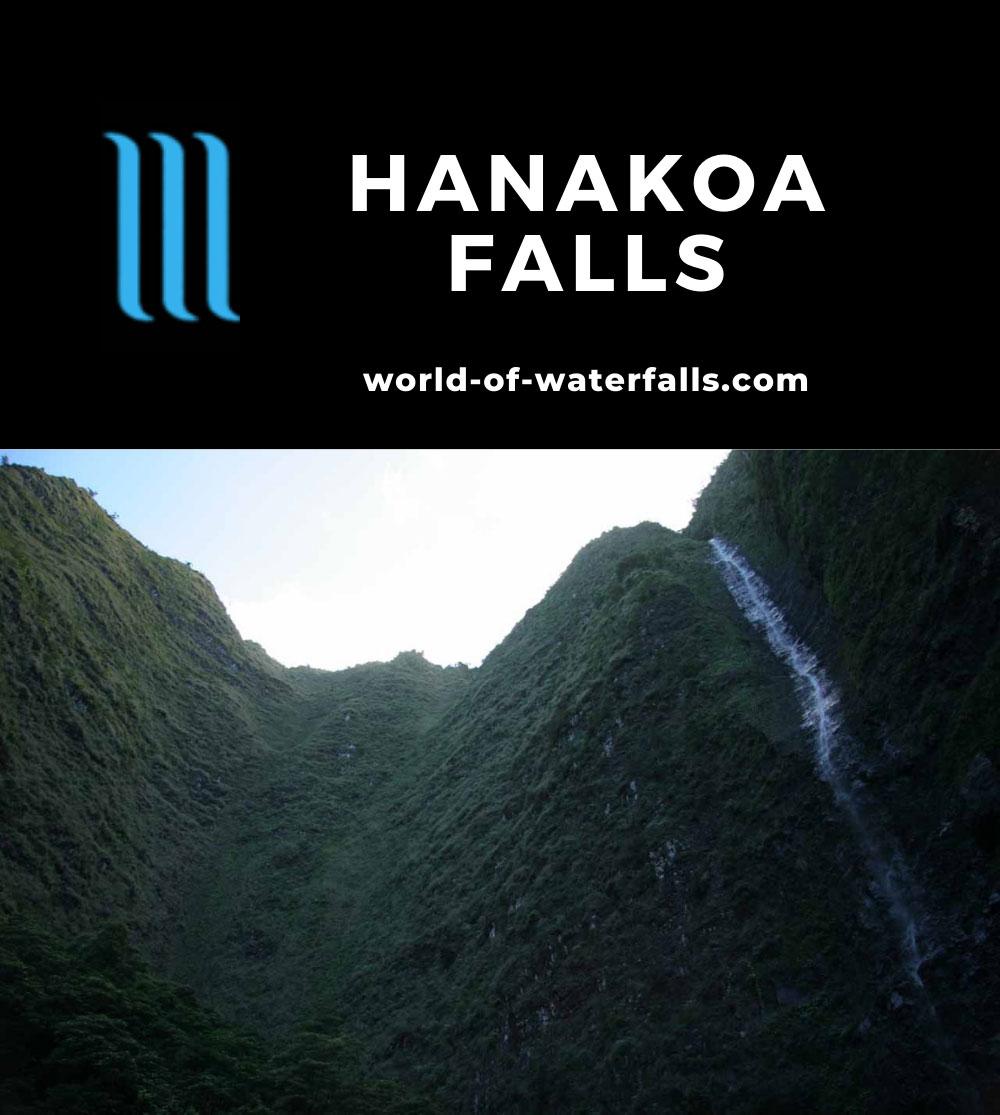 Hanakoa_Falls_019_12252006 - Looking up at Hanakoa Falls