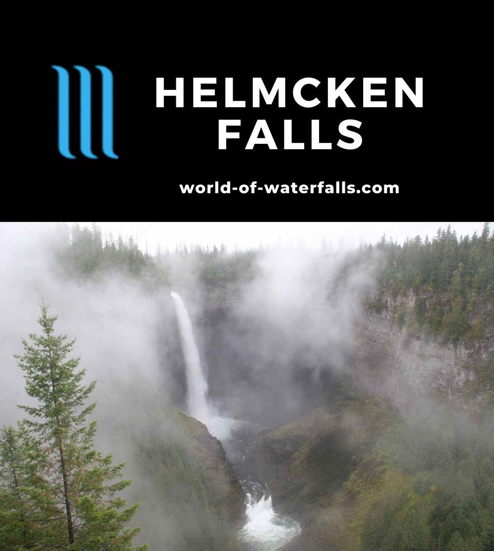 Helmcken_Falls_017_09192010 - Helmcken Falls barely revealing itself in the fog